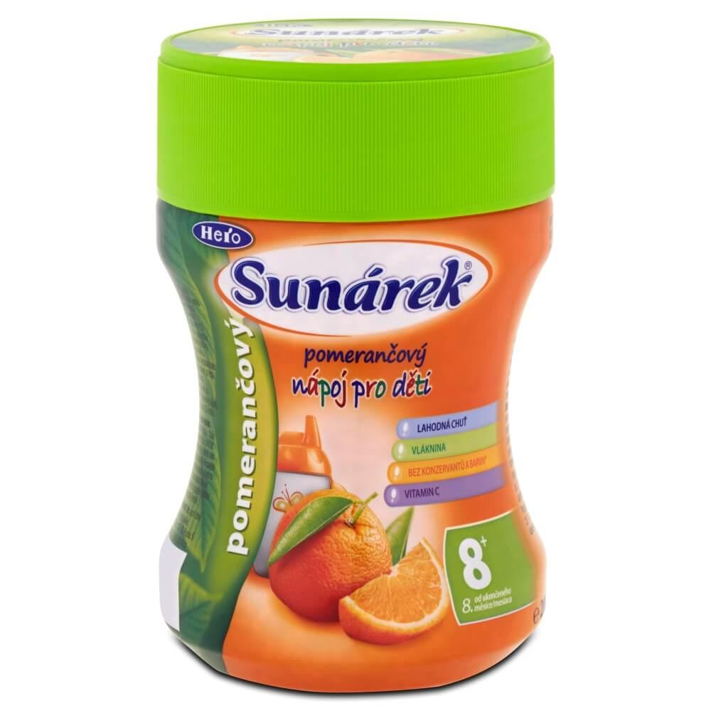 Sunárek instantní nápoj pomeranč dóza 200g