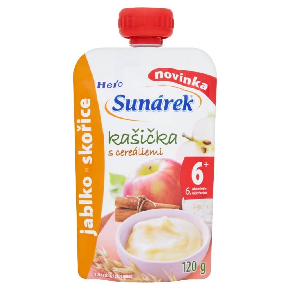 SUNÁREK Kašička Jablko a skořice 120 g