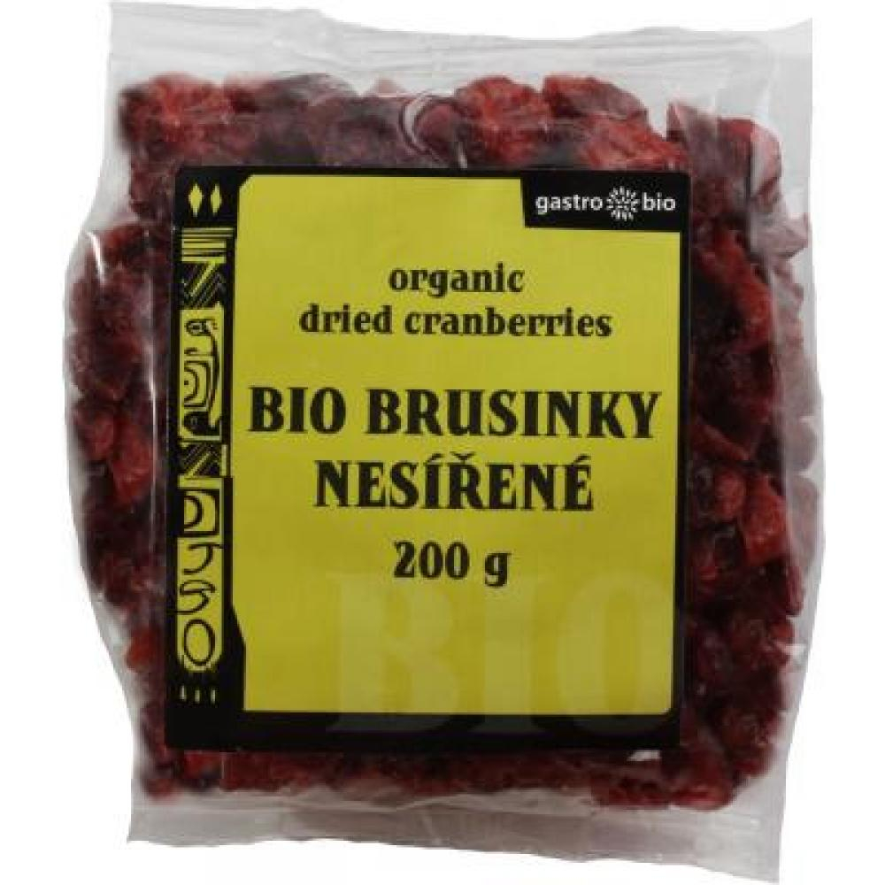 Sušené brusinky Gastro Bio 200g-BIO