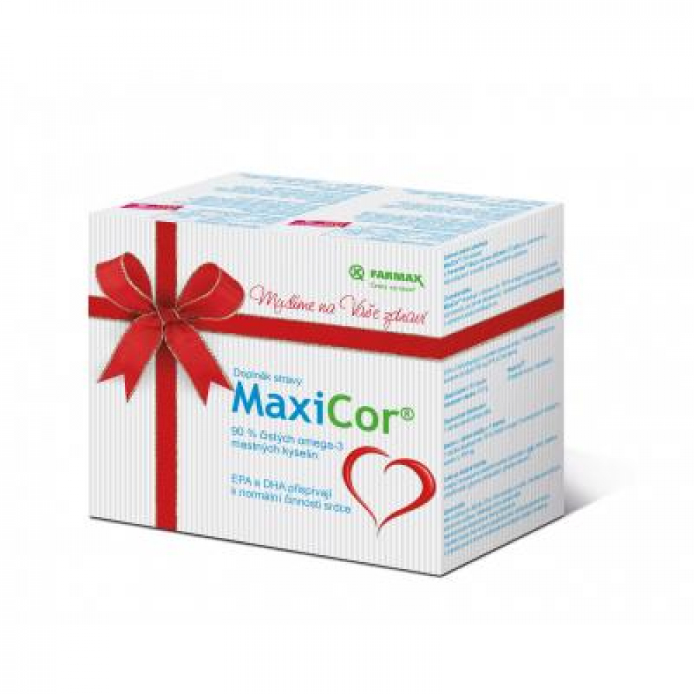 FARMAX MaxiCor dárkové balení 70+20 tobolek ZDARMA + Preventan Akut 10 tablet