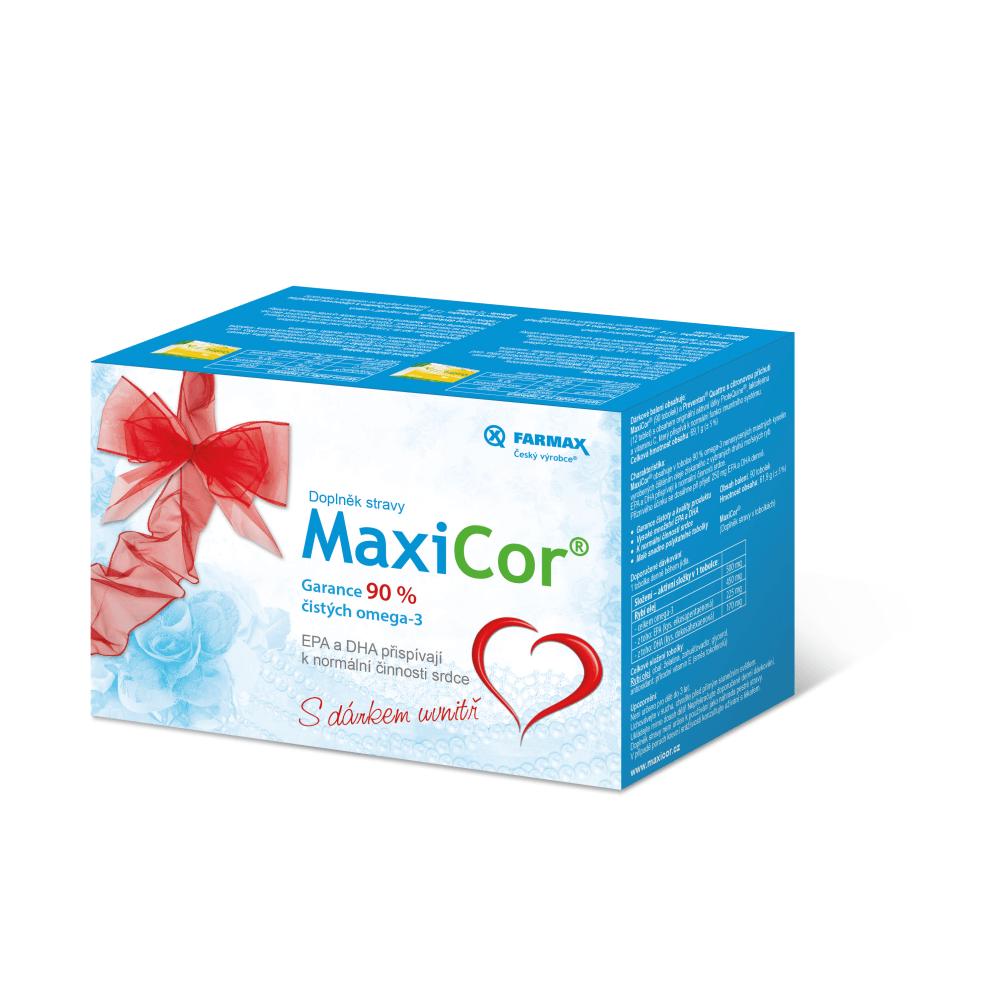 FARMAX MaxiCor dárkové balení 90 tobolek