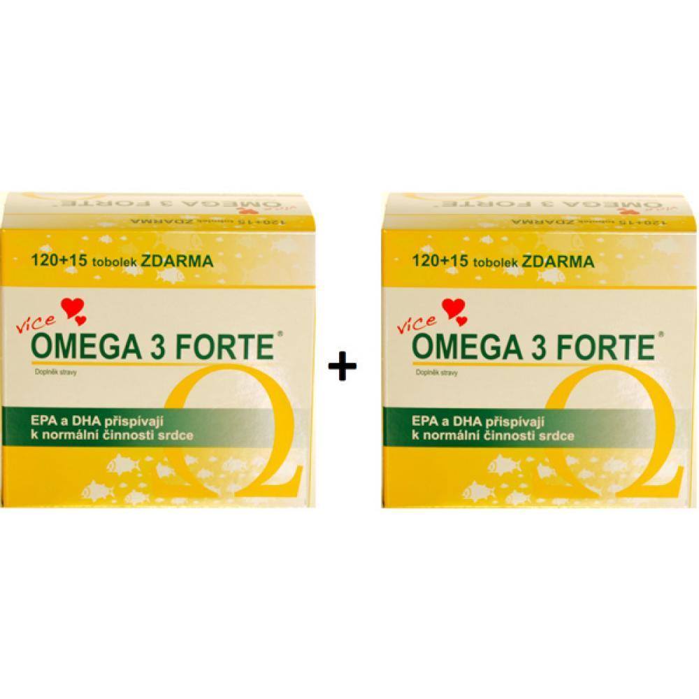 FARMAX Omega 3 FORTE 120+15 tobolek 1+1 balení ZDARMA : VÝPRODEJ exp. 2017-09-30