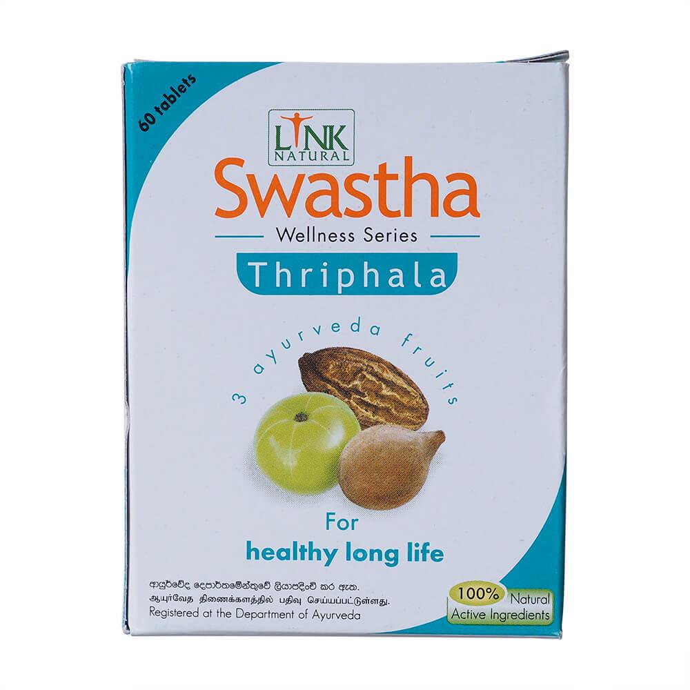 SWASTHA Triphala 60 kapslí podpora trávení a detoxikace