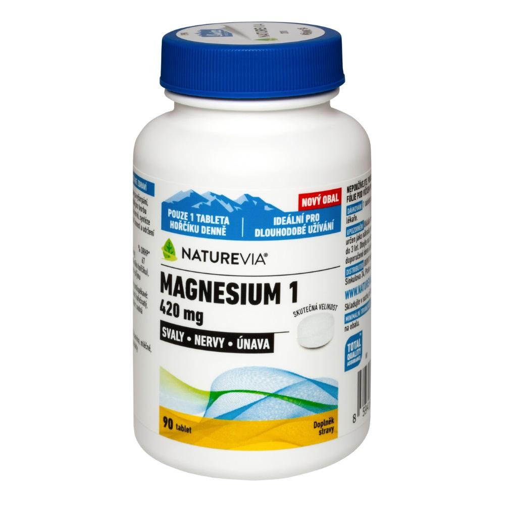 "SWISS NATUREVIA Magnesium ""1"" 420 mg 90 tablet"