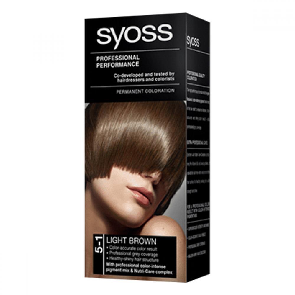 SYOSS Barva na vlasy odstín světle hnědý 5-1