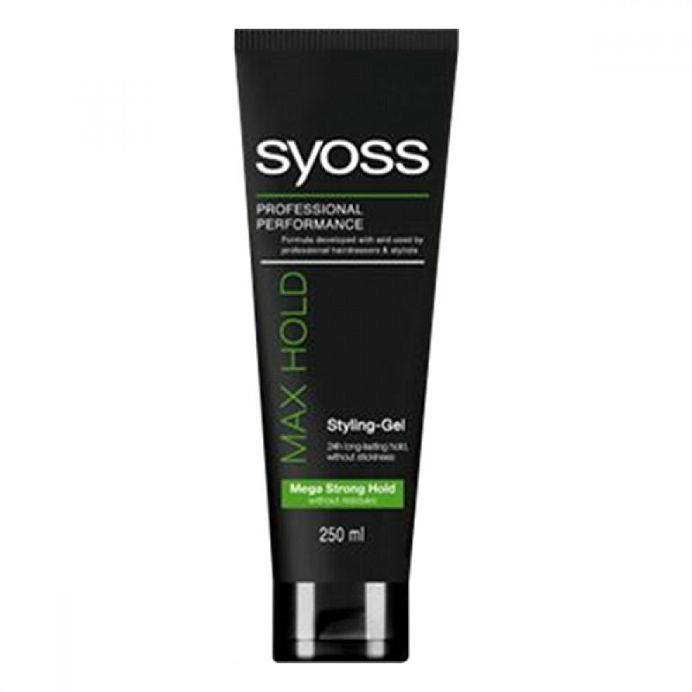 SYOSS gel max hold 250ml zelený