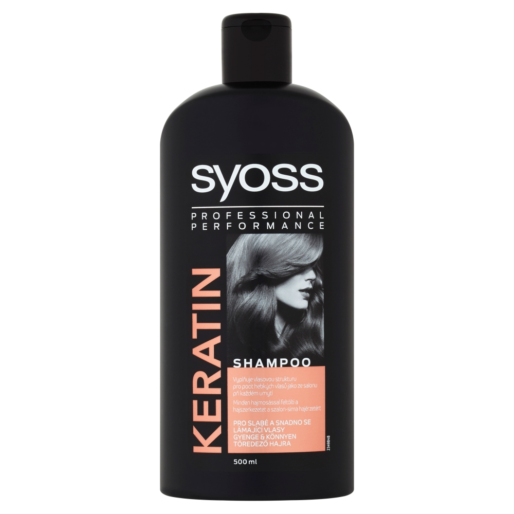 SYOSS Keratin Šampon na vlasy 500 ml