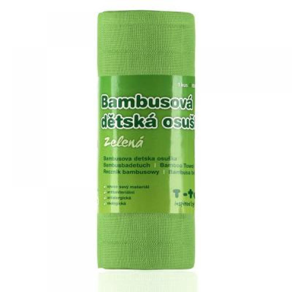 T-TOMI Bambusová osuška zelená 1 kus