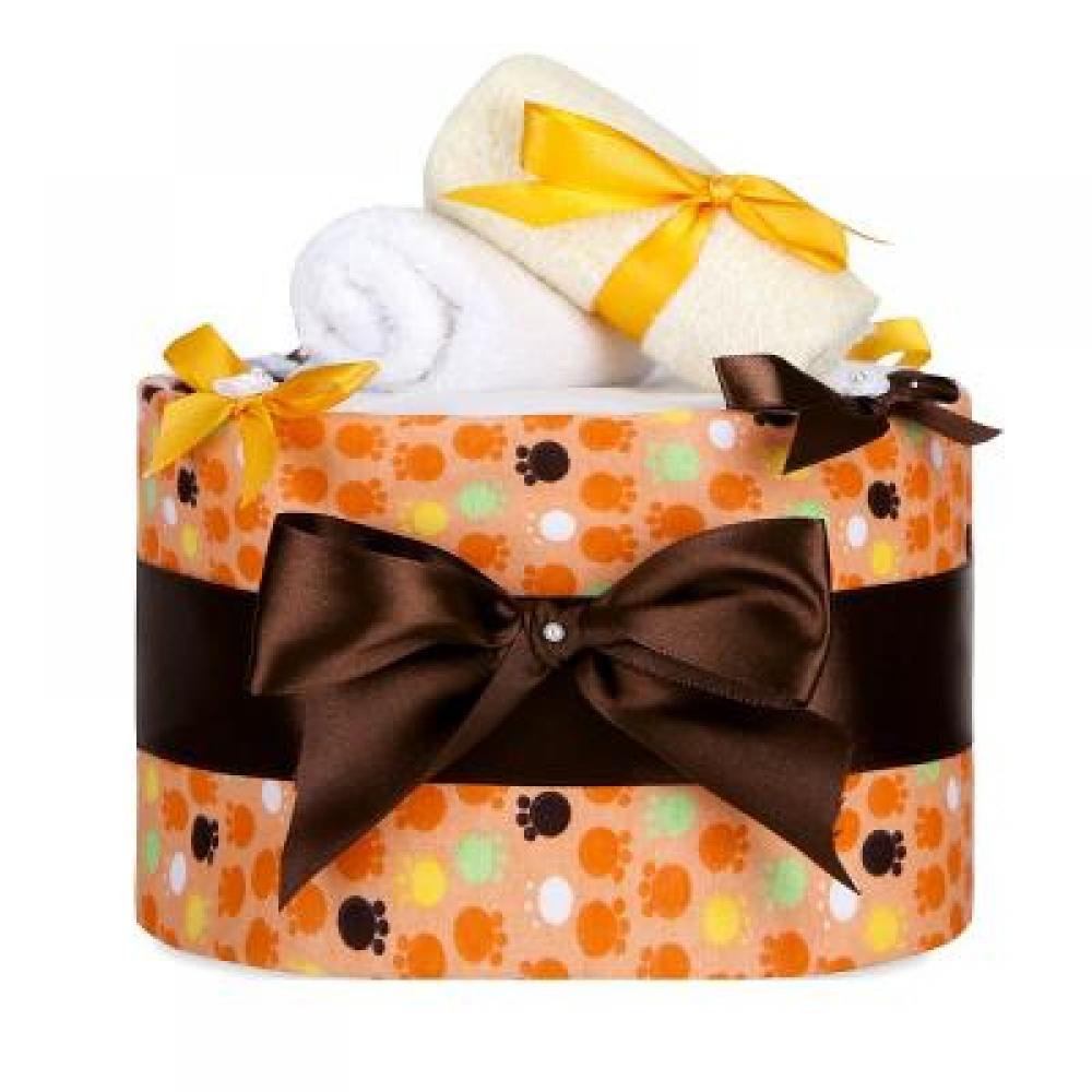 T-TOMI plenkový dort Velké oranžové tlapky