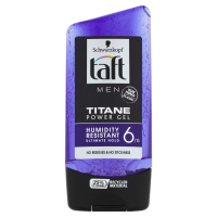 TAFT Men Titane Power Gel na vlasy 150 ml