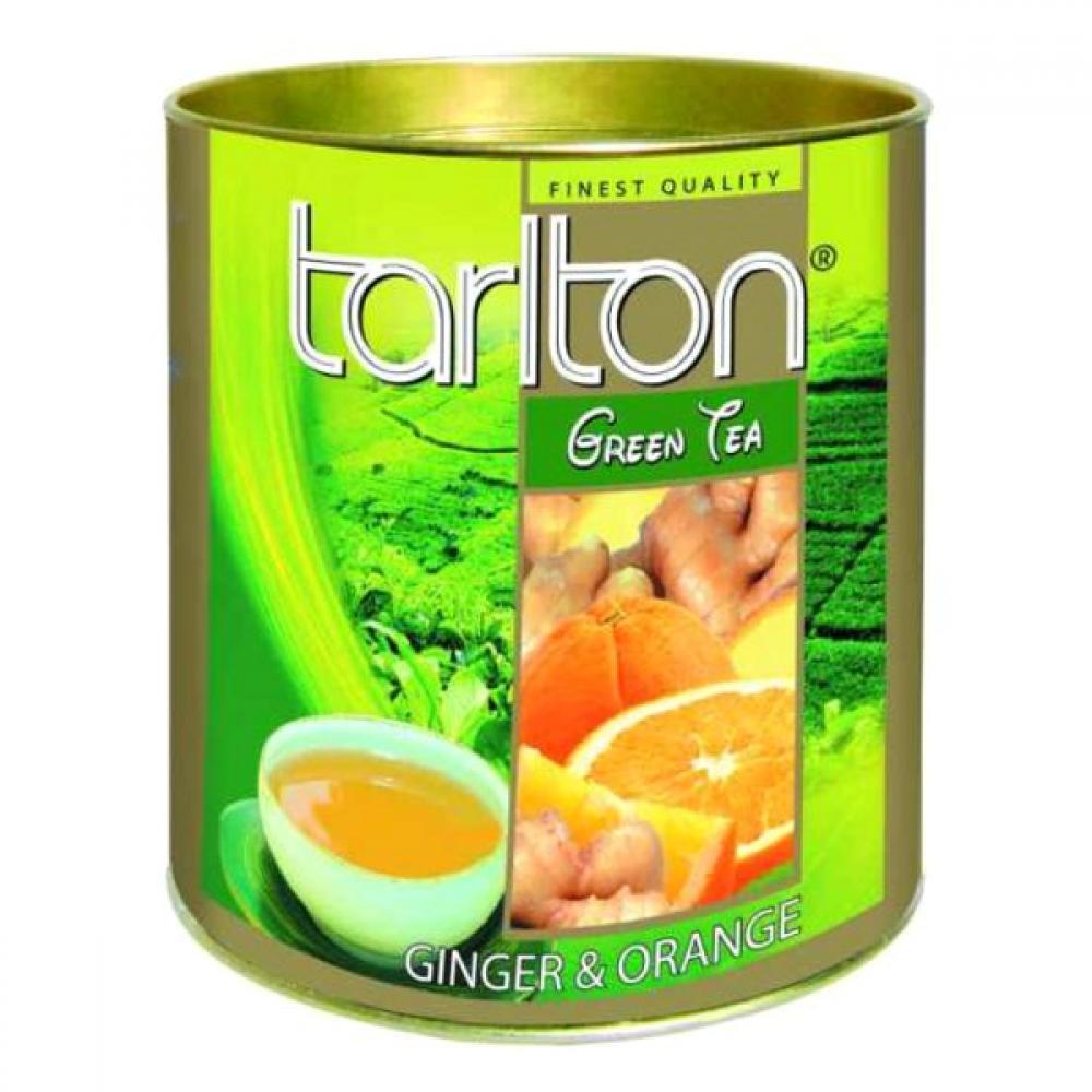 Tarlton Ginger, zelený čaj se zázvorem 100g
