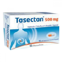 PHARMASWISS Tasectan 500 mg 15 tobolek