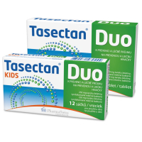 TASECTAN DUO Kids 250 mg 12 sáčků