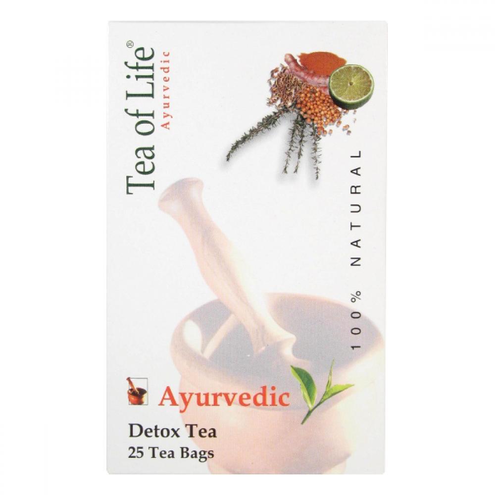 Tea of life Bio čaj detoxikační 25x2g