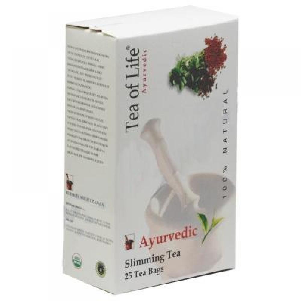 Ajurvédský Tea of life Bio čaj na hubnutí 25x2g