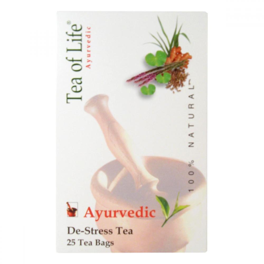 Ajurvédský Tea of life Bio čaj proti stresu 25x2g