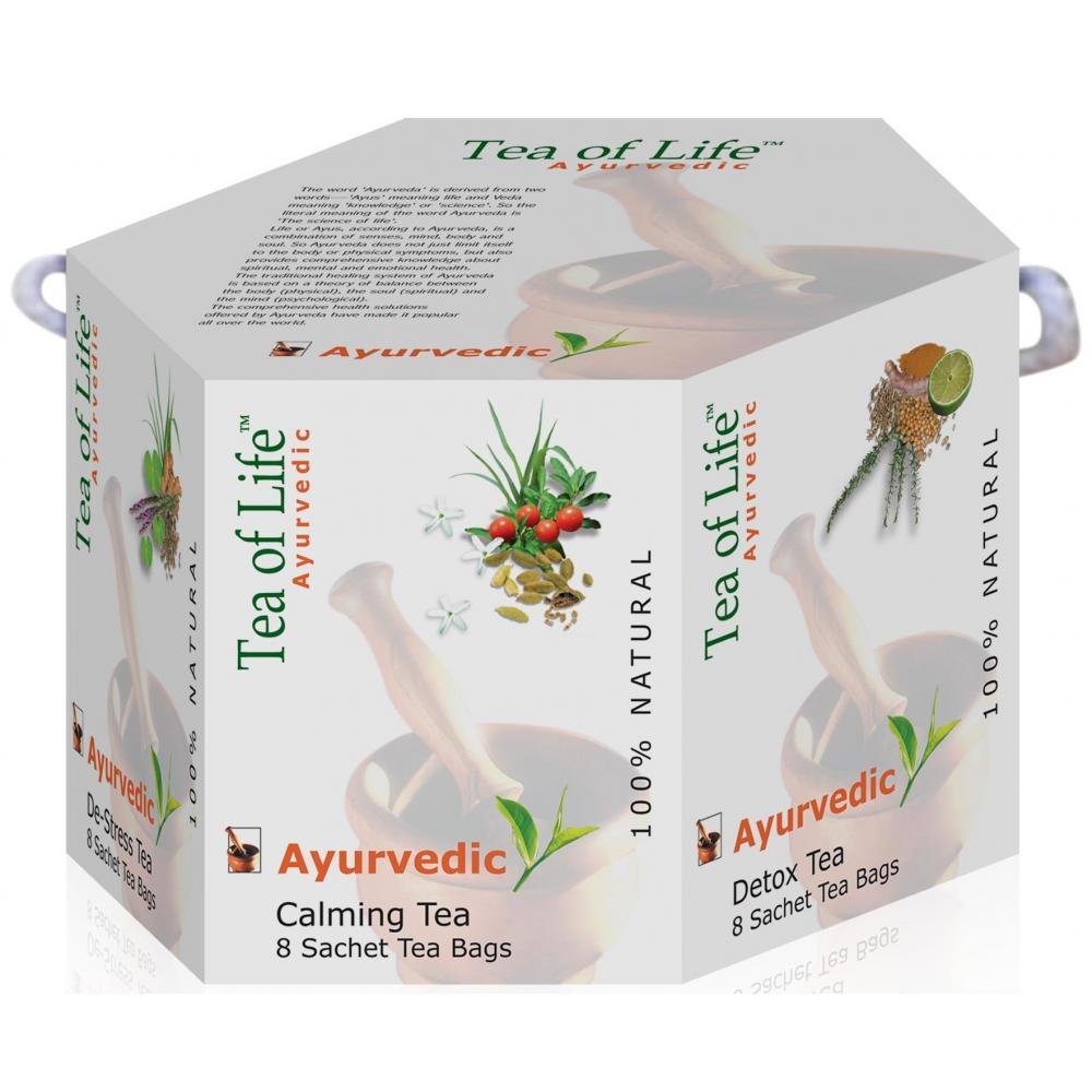 TEA OF LIFE Dárkové balení čajů Ayurvedic 6x8 sáčků