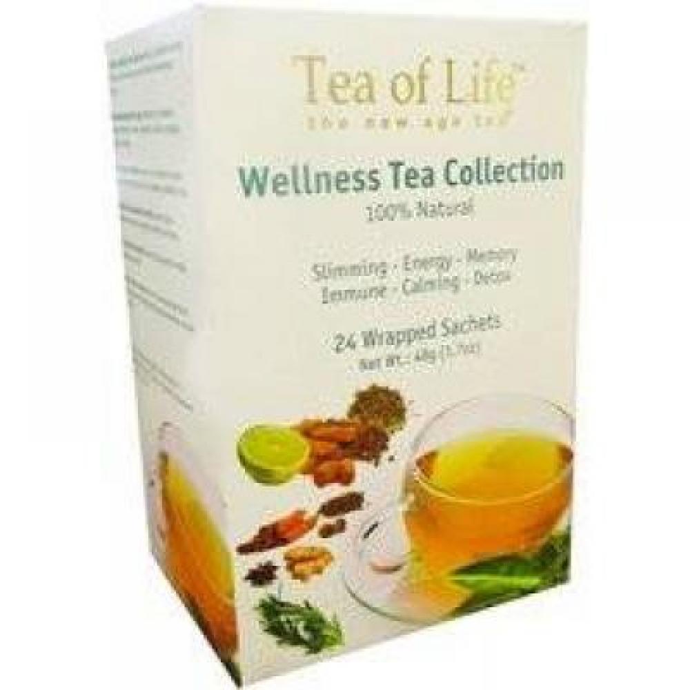 Tea of Life Wellness Tea 6 druhů n.s.24x1.5g