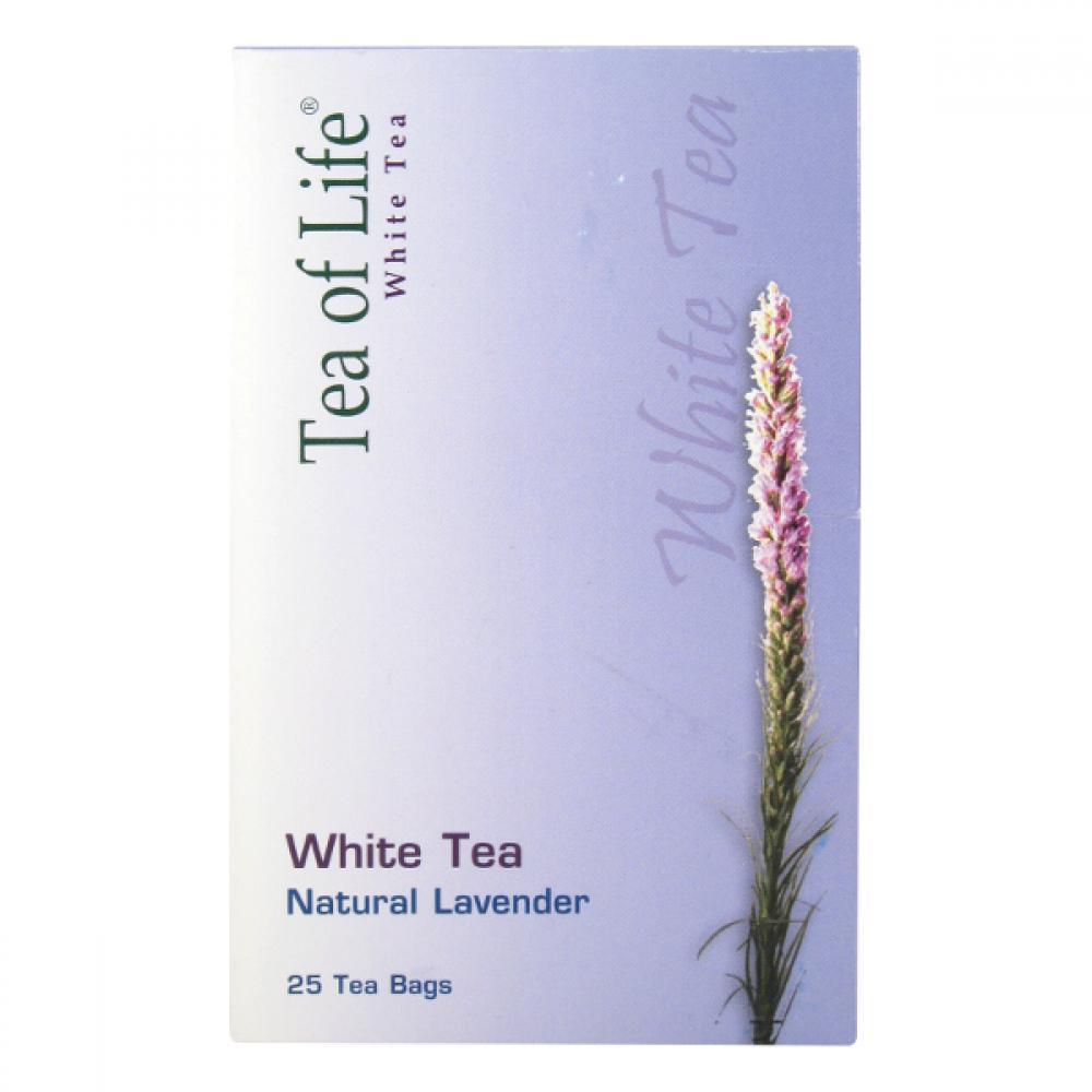 Tea of Life White tea Natur Levand.25x2g