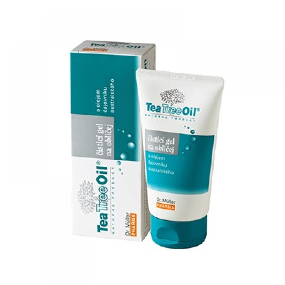 Tea Tree Oil čisticí gel na obličej (Dr.Müller) 150ml