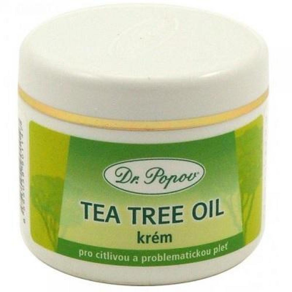 DR. POPOV Tea Tree Oil krém 50 ml