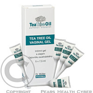 Tea Tree oil vaginal gel 5x7.5g (Dr.Müller)