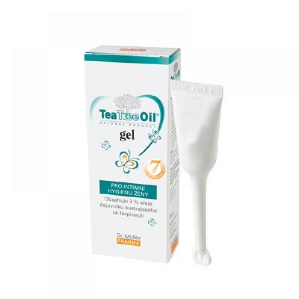 DR. MÜLLER Tea Tree Oil gel pro intimní hygienu ženy 7x7,5 g