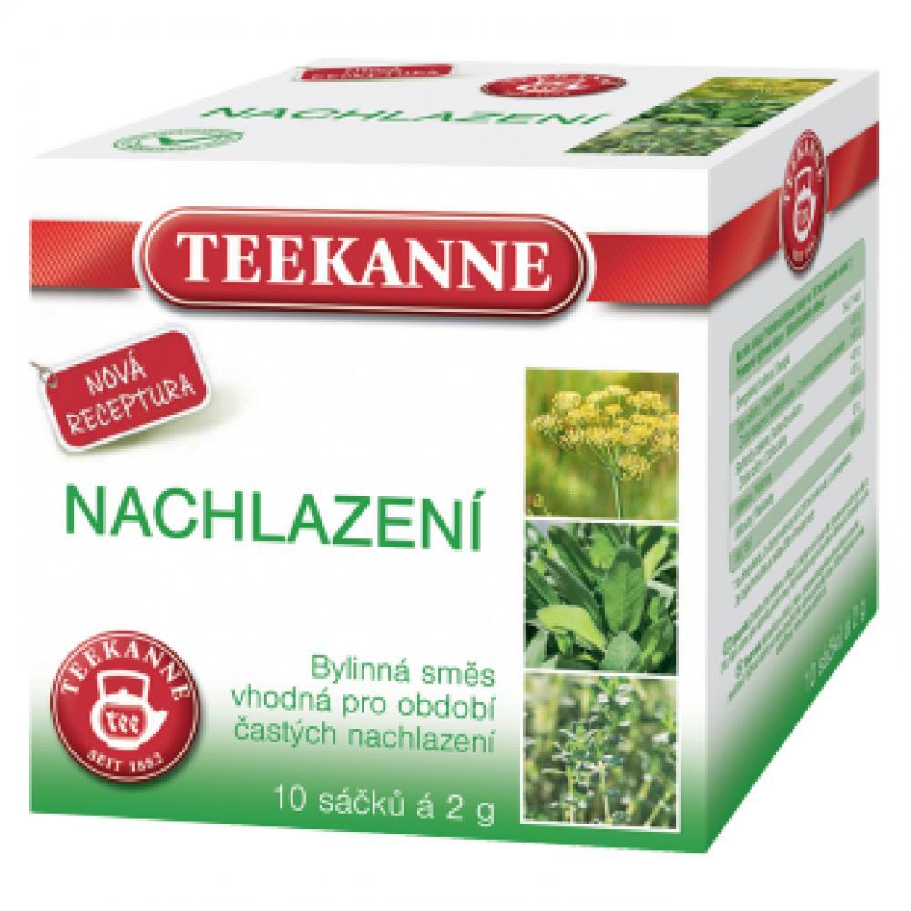 TEEKANNE Bylinný čaj Nachlazení 10x2 g