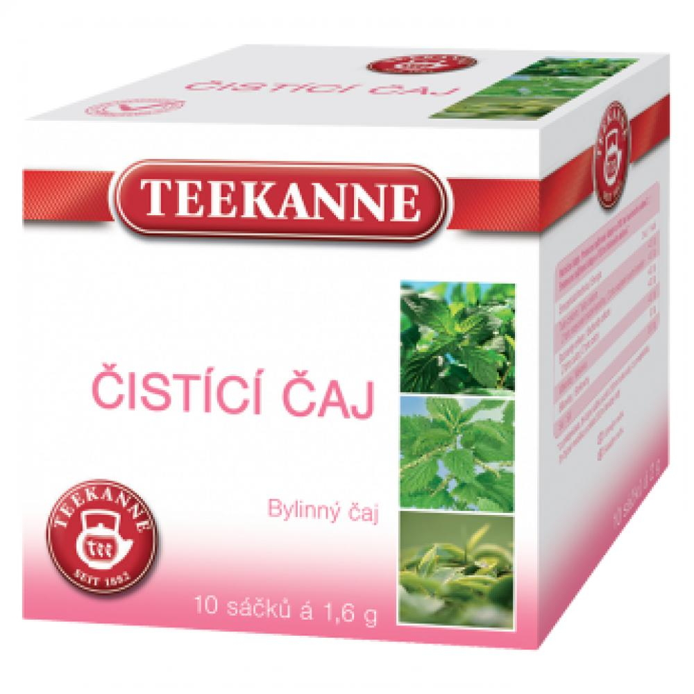 TEEKANNE Bylinný Čistící čaj 10x1,6 g
