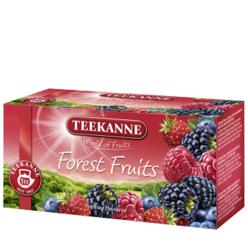 TEEKANNE Ovocný čaj Forest Fruit 20x2,5 g