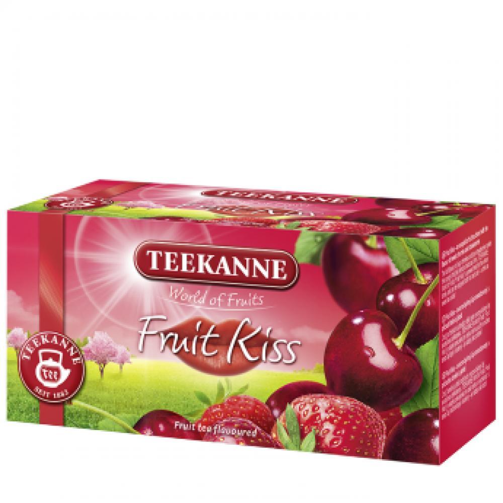 TEEKANNE Ovocný čaj Fruit Kiss 20x2,5 g
