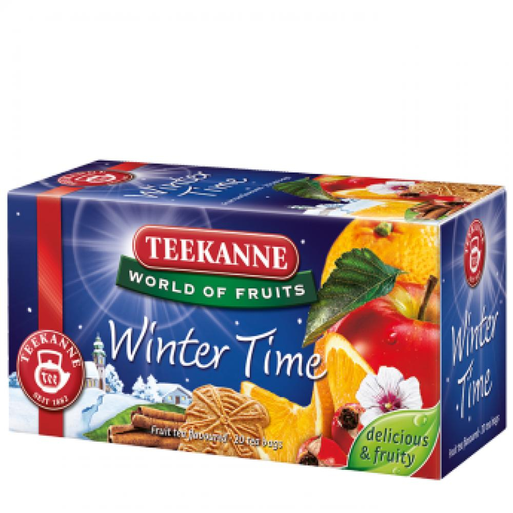 TEEKANNE Ovocný čaj Winter Time 20x2,5 g