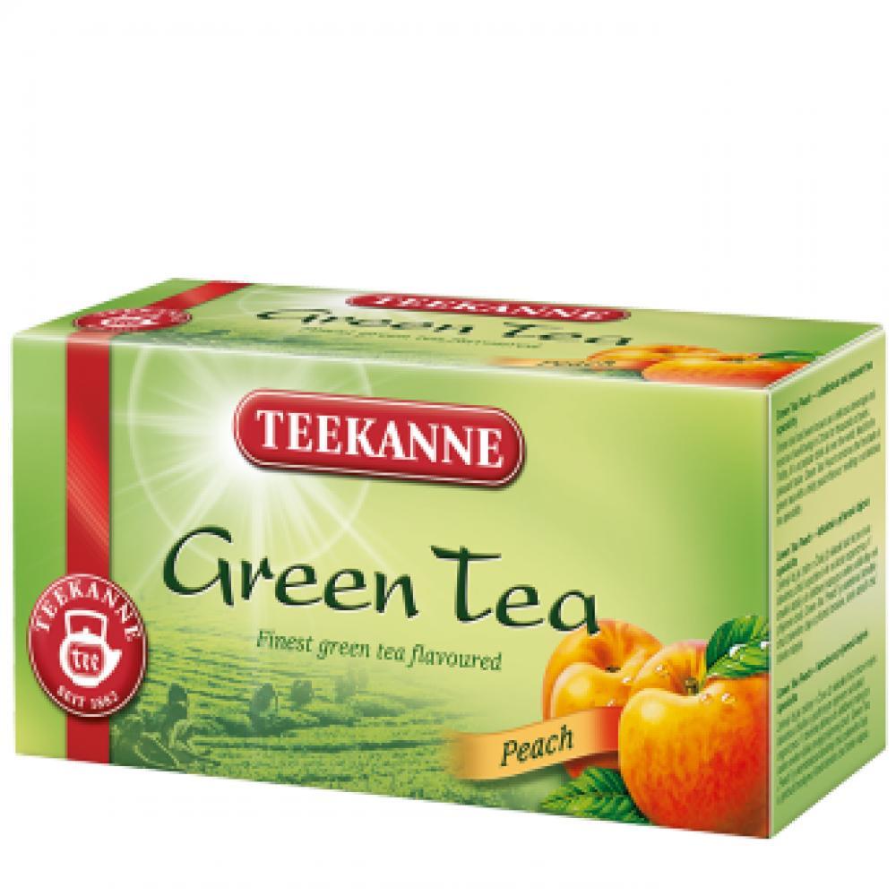 TEEKANNE Zelený čaj broskev 20x1.75g nálev.sáč.