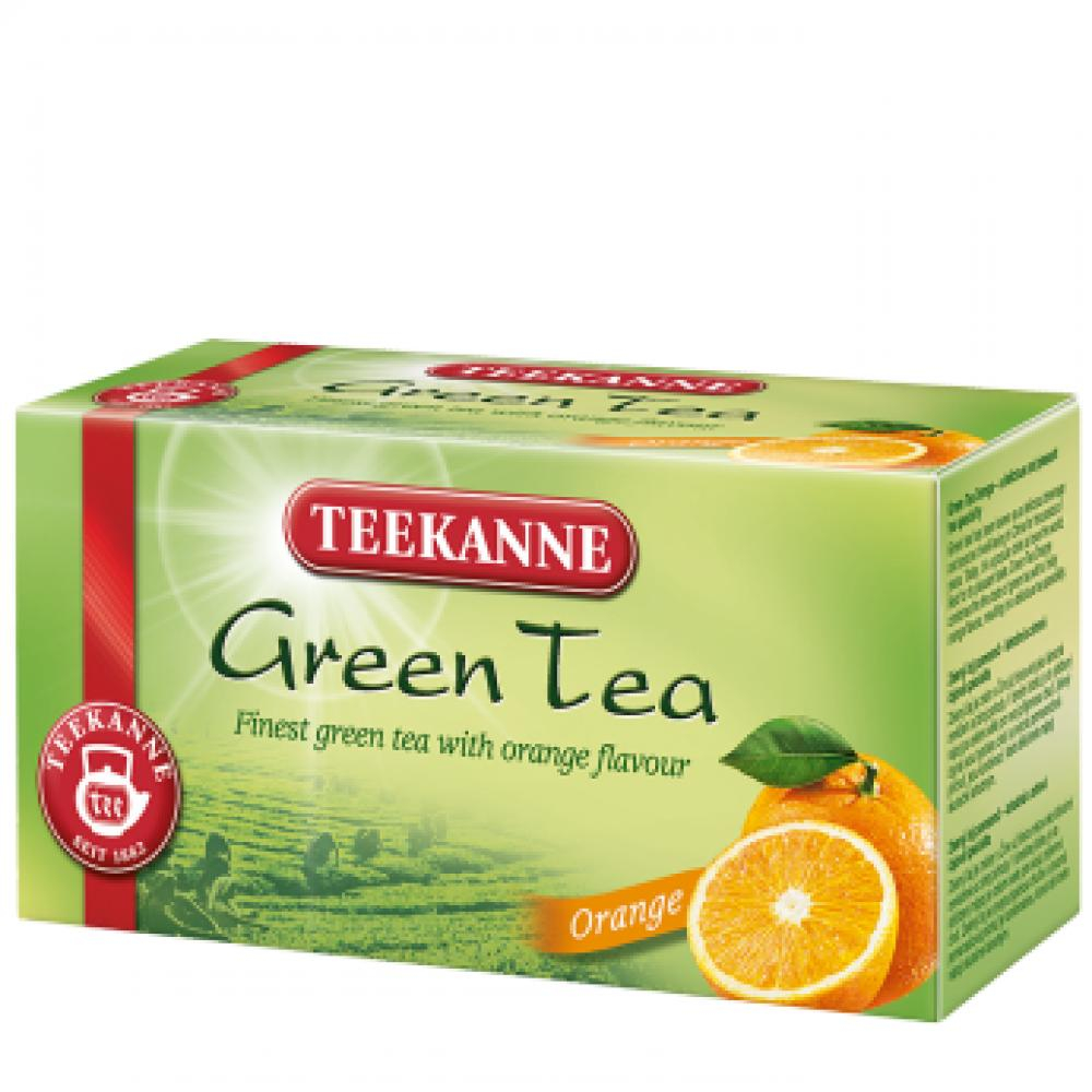 TEEKANNE TEEKANNE Teekanne Zelený čaj Ginkgo pomeranč n.s. 20 x 1,75 g