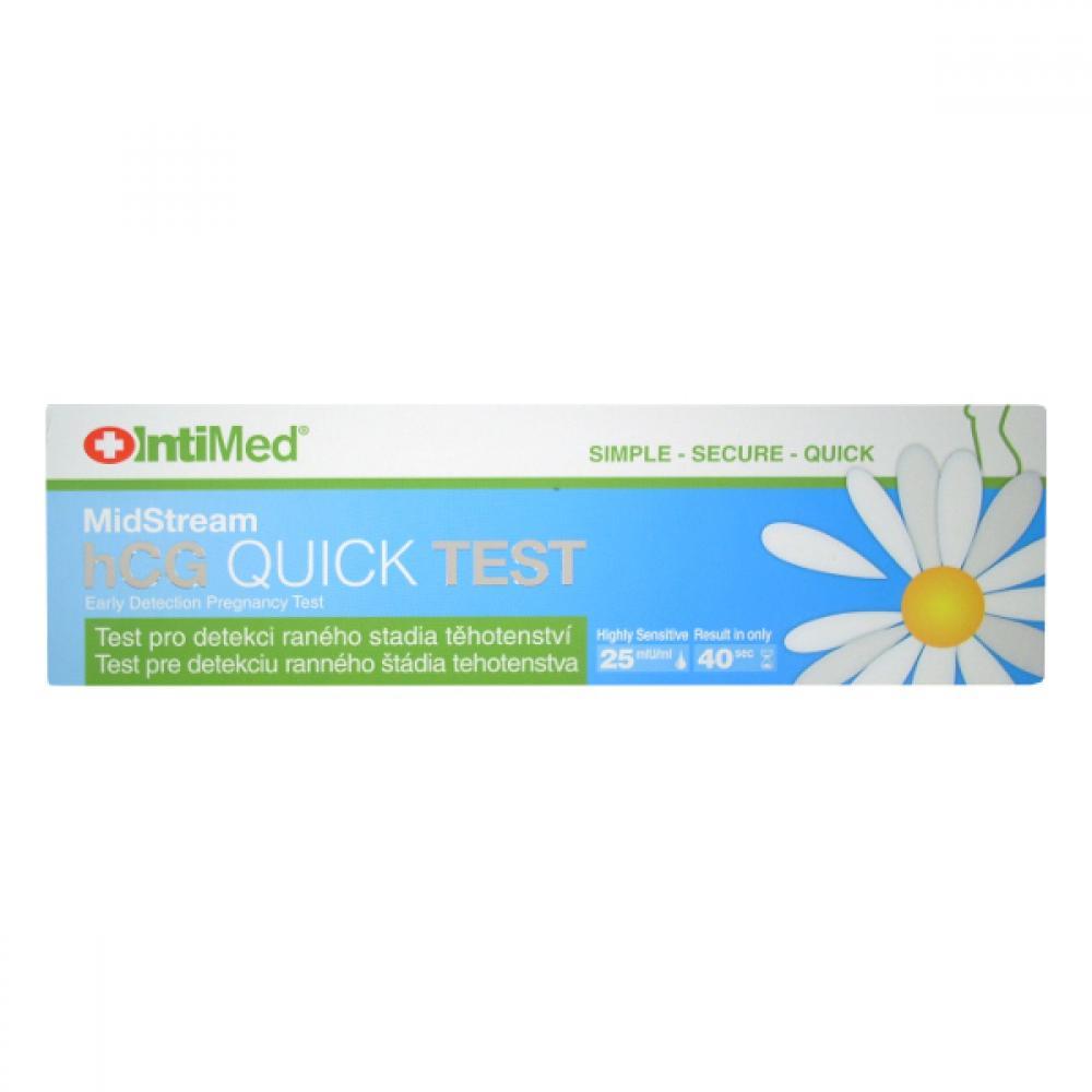 Těhotenský test IntiMed hCG Quick Test MidStream
