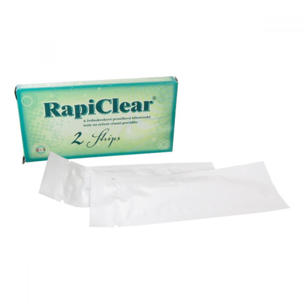 Těhotenský test RapiClear 2 Strip 2ks