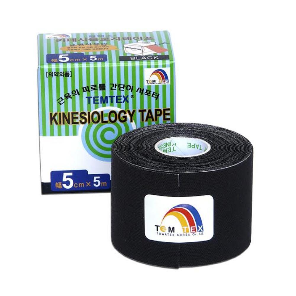 TEMTEX Tejpovací páska černá 5cmx5m