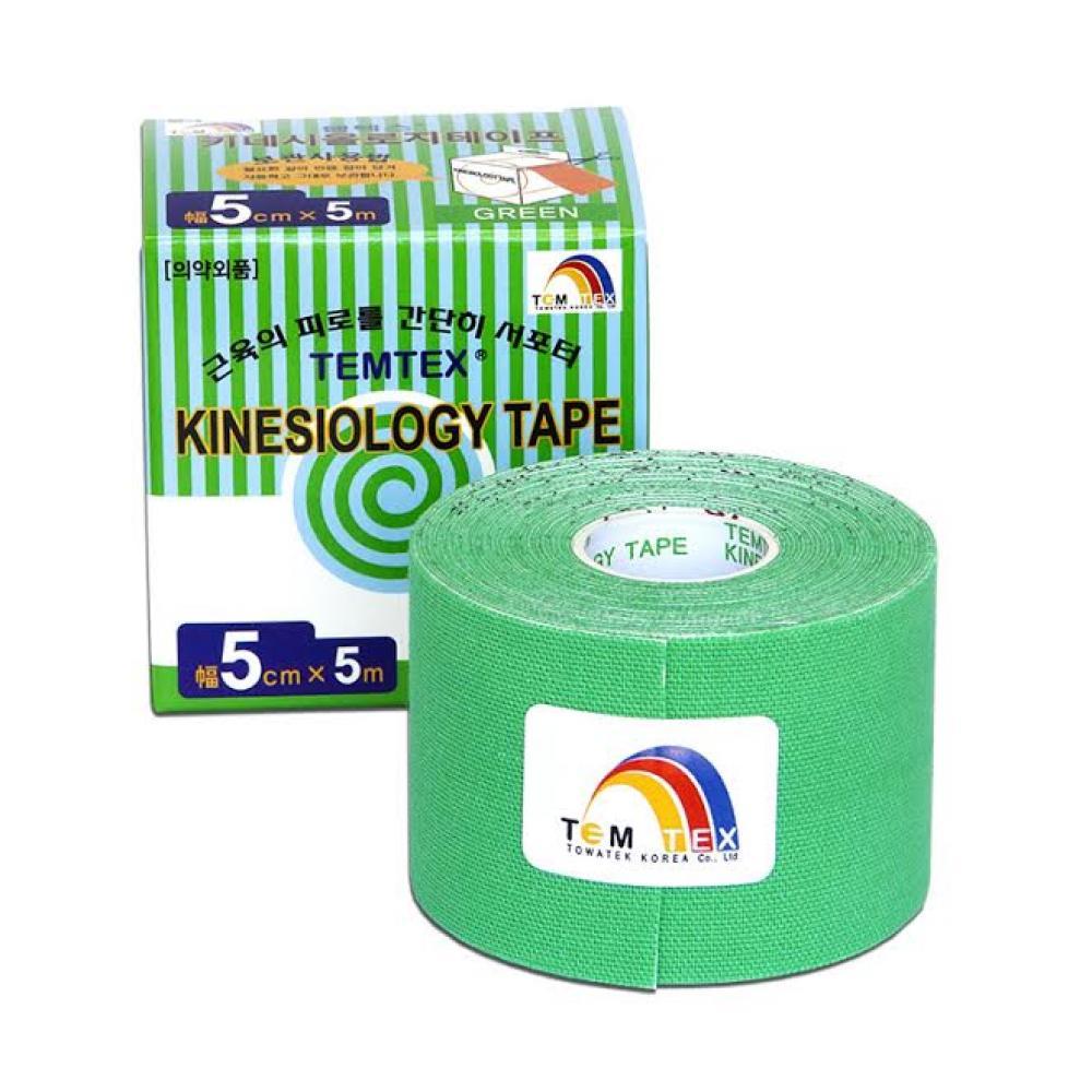TEMTEX Tejpovací páska zelená 5cm x 5m