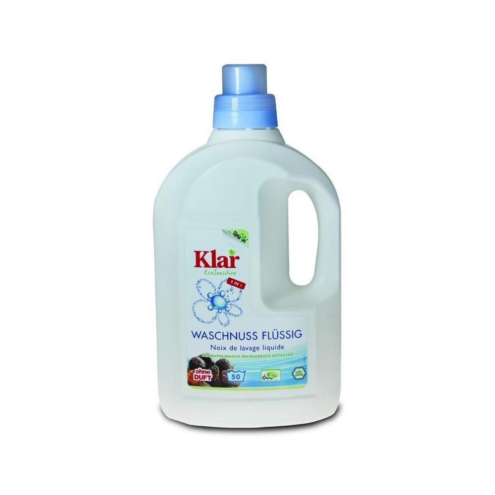 KLAR Tekuté mýdlové ořechy na praní 1,5 l