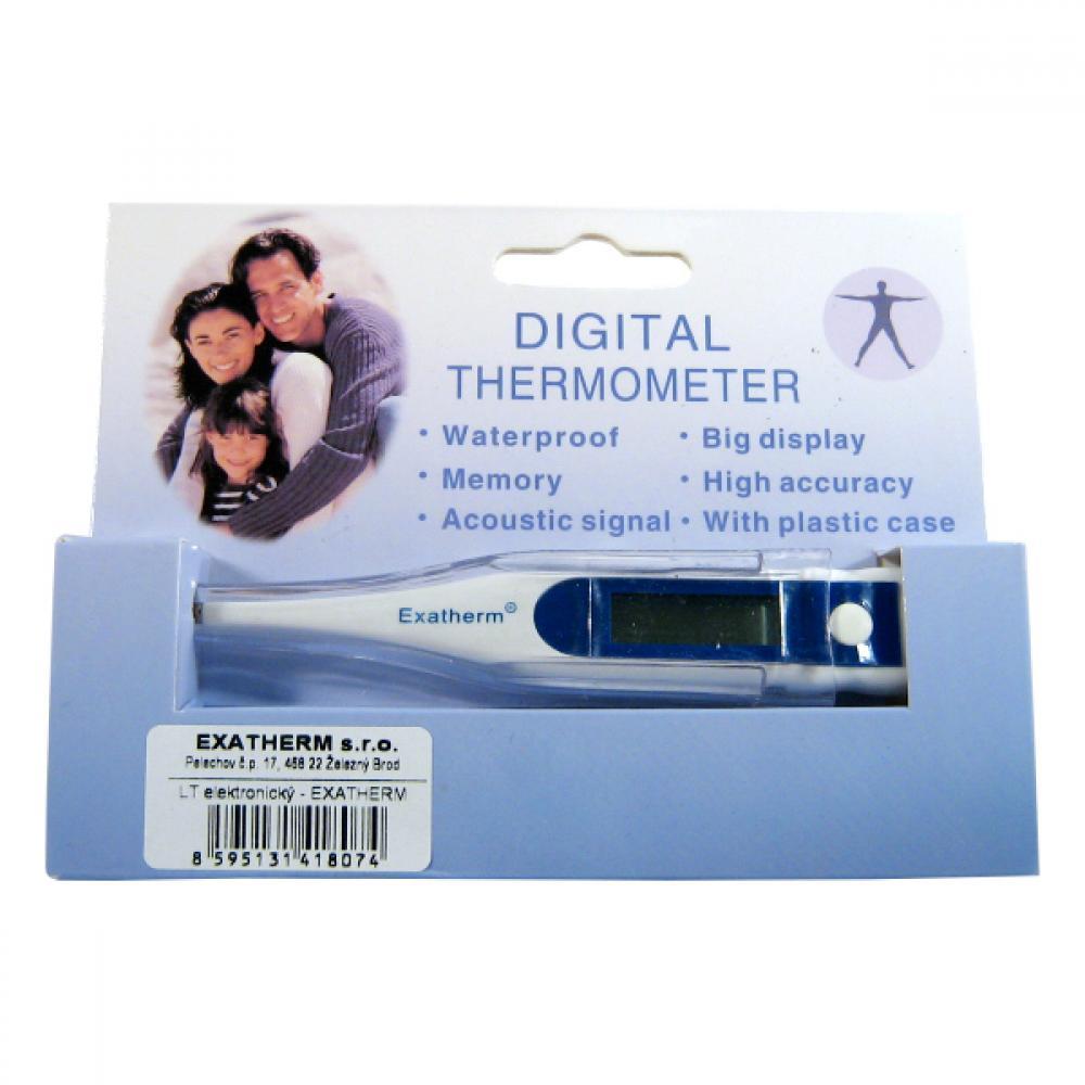 Teploměr digitální vodotěsný s pamětí (EXATHERM)