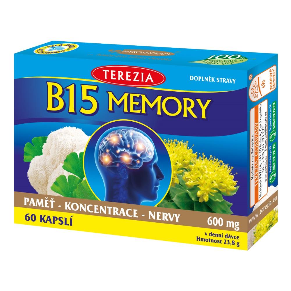 Terezia Company B15 Memory 60 kapslí