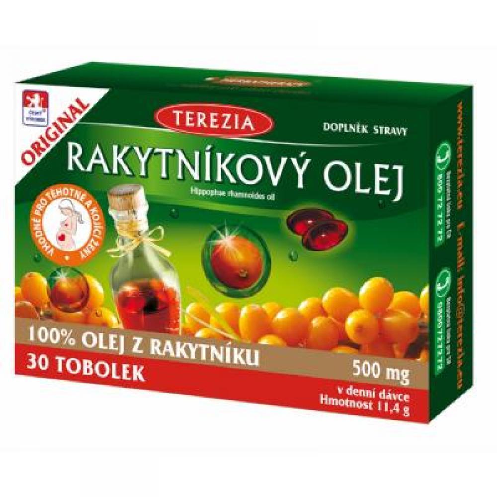 TEREZIA Rakytníkový olej 30 tobolek