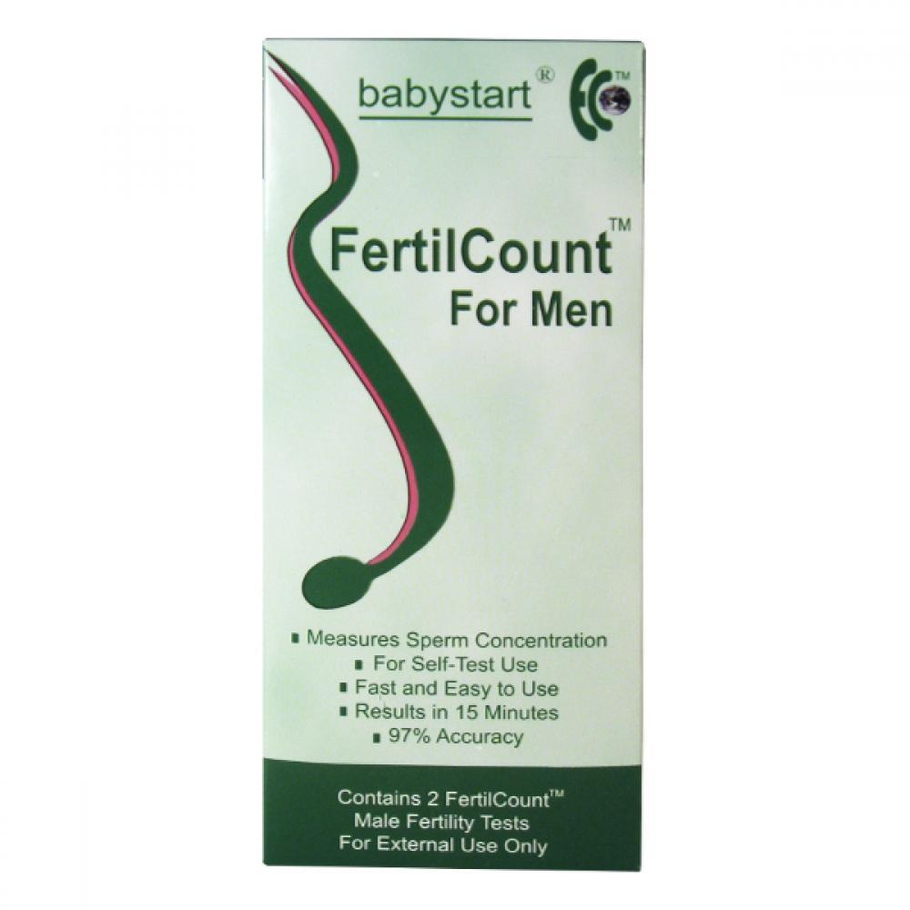Test mužské plodnosti Fertilcount 2 použití