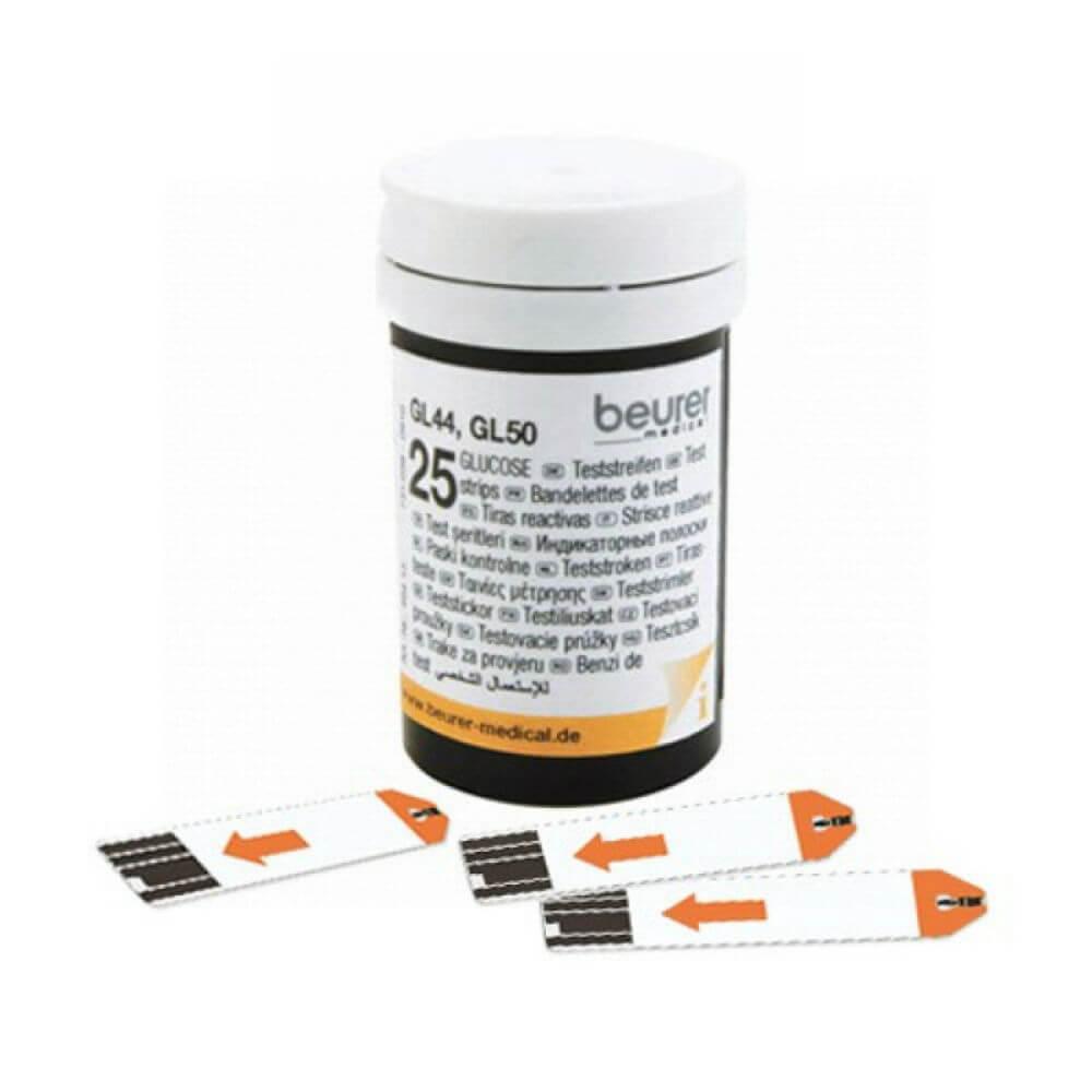 BEURER Testovací proužky ke glukometru GL 44/GL 50 2x25 kusů