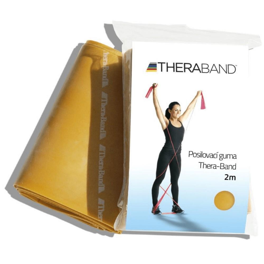 THERA-BAND Posilovací guma zlatá - maximálně silná 2 m