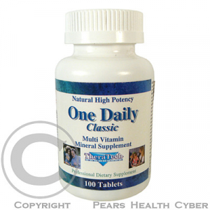 TheraTech 01 One Daily Classic mutivitamín + multiminerály tbl. 100