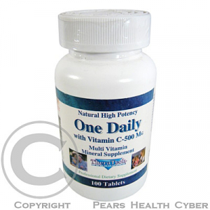 TheraTech 03 One Daily vitamin + minerály + extra C tbl. 100