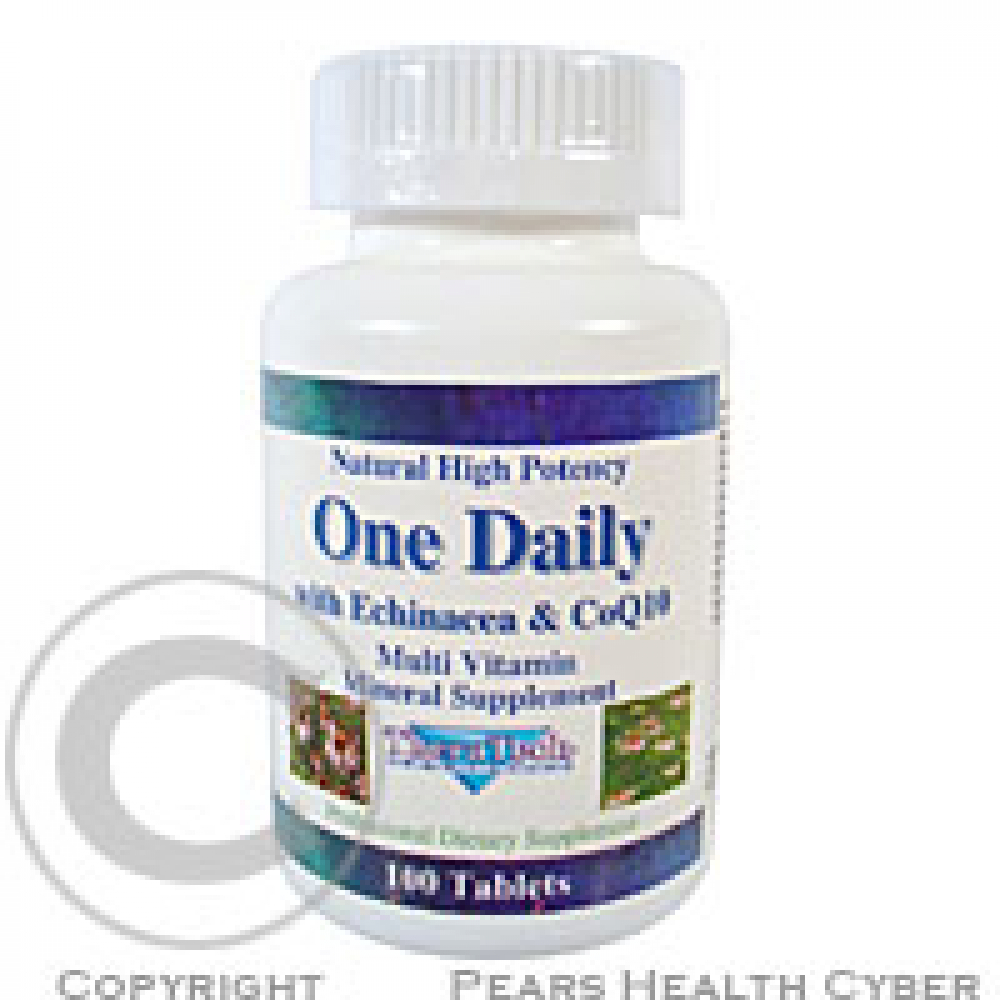 THERATECH 04 One Daily vitamíny + minerály + echinacea + Q10 100 kapslí