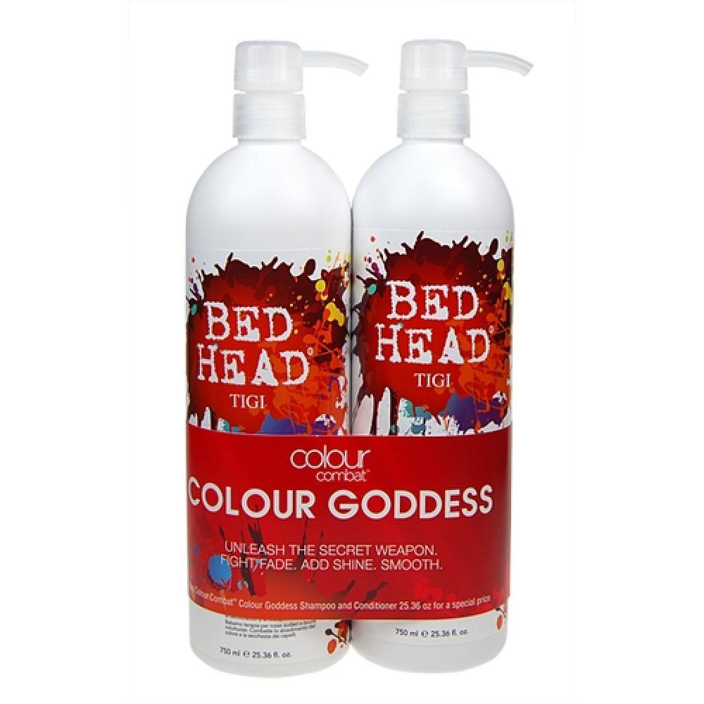 Tigi Bed Head Combat Colour Goddess Shampoo 1500ml 750ml Bed Head Combat Colour