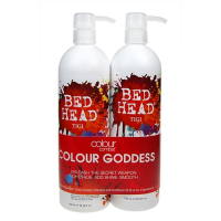 Tigi Bed Head Combat Colour Goddess Shampoo  1500ml 750ml Bed Head Combat Colour